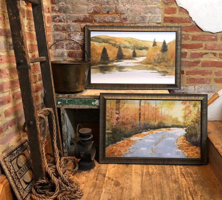 River Light and Autumn Light