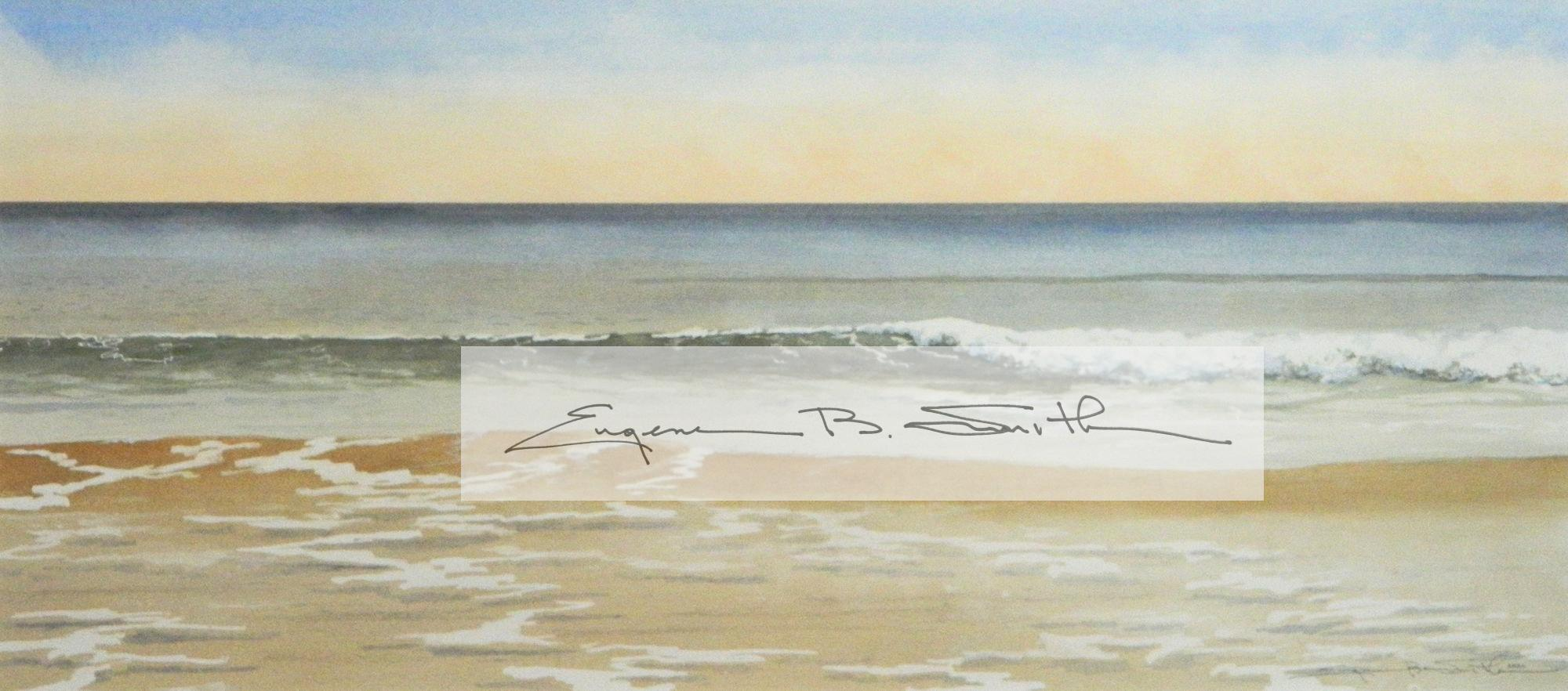 Quiet Sands | Image size: 9.5 x 21.5 | Frame size: 17.5 x 29.5 | Call for price