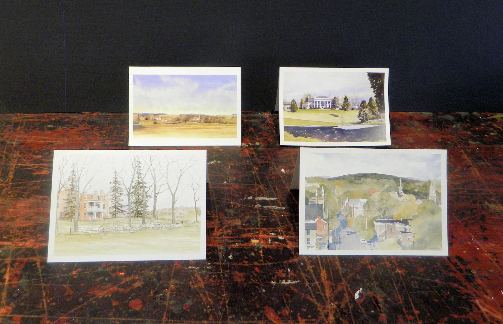 Alternate Notecards: Pritchards Hill | Edgehill | Convergence | Carter Hall | $3 each w/envelope