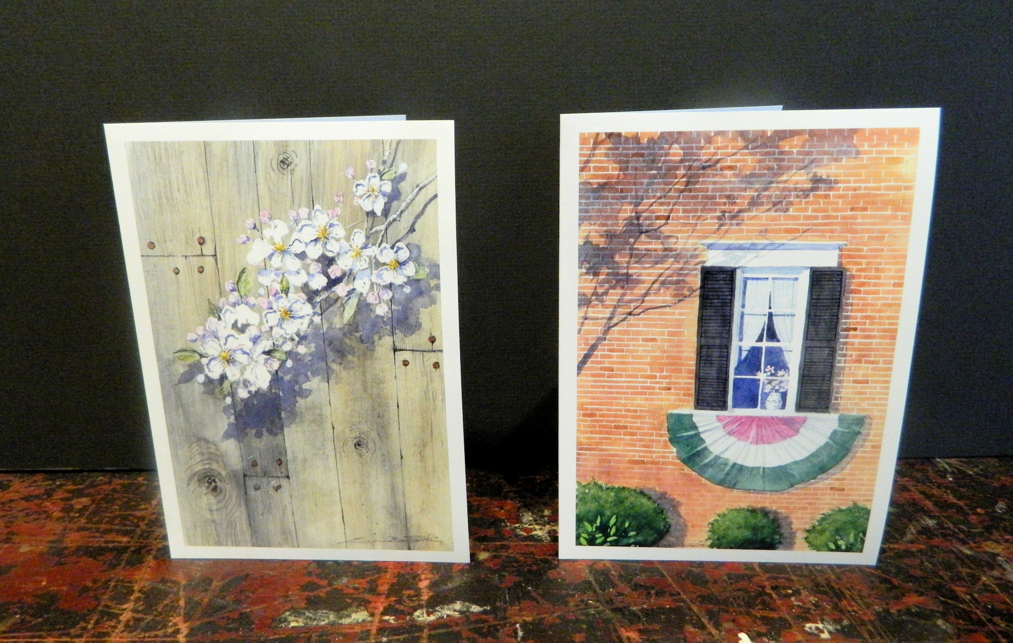 Barnwood Blossom | Blossom Bunting| Available individually or as alternates | $3 each w/envelope